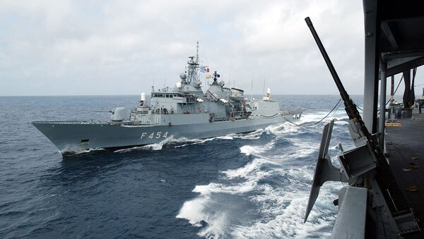 Warship of the Hellenic Navy - Sputnik International