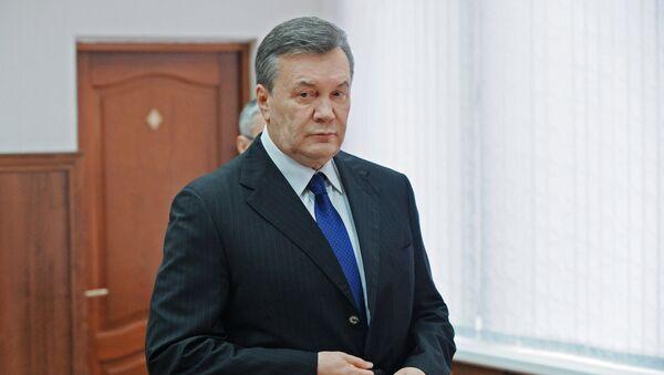 Viktor Yanukovych testifies via video link during trial into February 2014 unrest in Kiev - Sputnik International
