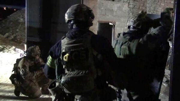 Law enforcement officers during a special operation. (File) - Sputnik International