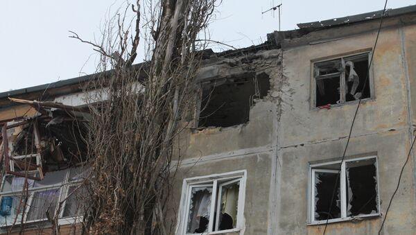 Donetsk after shelling - Sputnik International