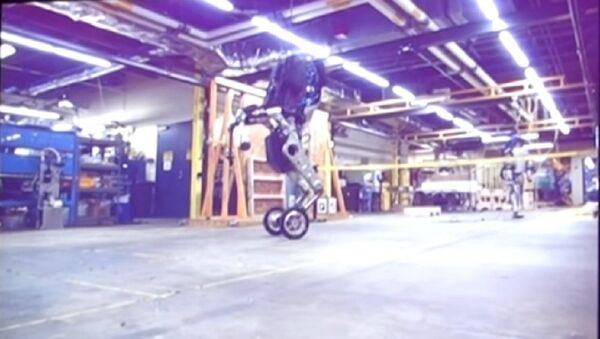 Handle, the new robot from Boston Dynamics. - Sputnik International