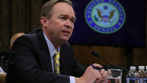 Mick Mulvaney (R-SC) testifies before a Senate Budget Committee confirmation hearing on his nomination of to be director of the Office of Management and Budget on Capitol Hill in Washington, U.S - Sputnik International
