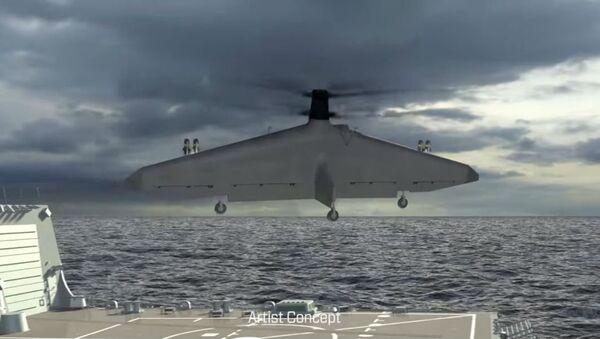 Artist's Rendering of Northrop Grumman's Tern - Sputnik International