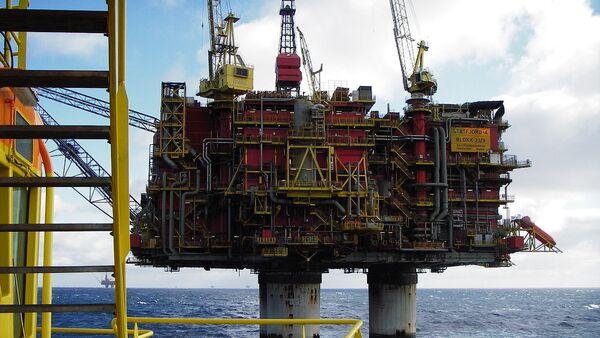 Norwegian oil rig Statfjord A - Sputnik International