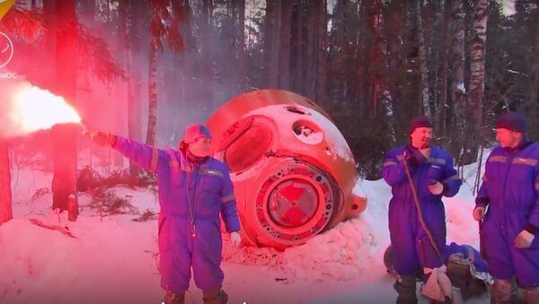 Russian Сosmonauts Survival Training - Sputnik International