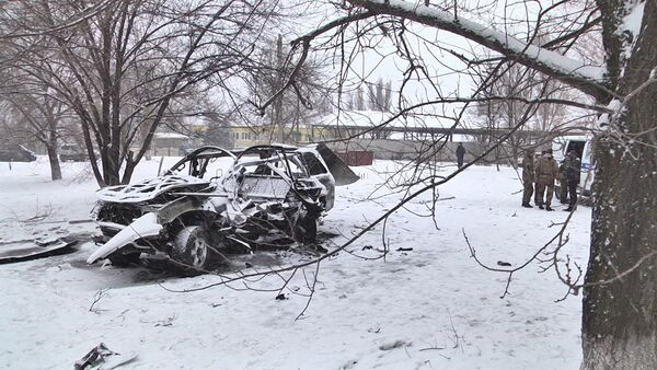 Car Blast in Lugansk Kills Republic's Senior Commander - Sputnik International