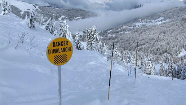 Avalanche Warning - Sputnik International