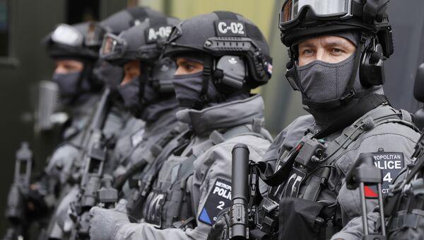 Police counter terrorism officers in London (File) - Sputnik International