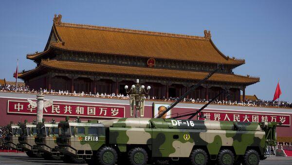 China's DF-16 Missiles - Sputnik International