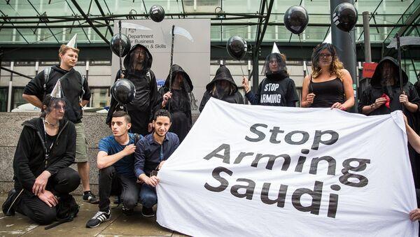 UK-based Campaign Against Arms Trade (CAAT) - Sputnik International