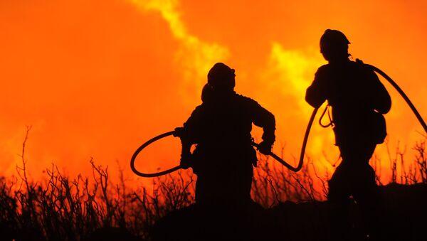 Firefighters, Spain - Sputnik International