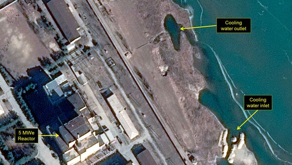 Map of North Korea's Yongbyon nuclear facility - Sputnik International