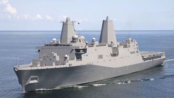 USS Green Bay (LPD 20) - Sputnik International