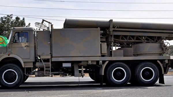 Fajr-5 multiple rocket launcher - Sputnik International