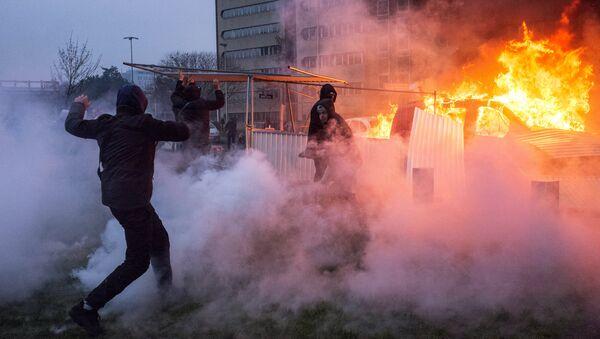 Protest against police brutality in France - Sputnik International