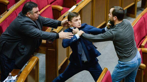 MPs at a meeting of Ukraine's Verkhovna Rada, Kiev - Sputnik International