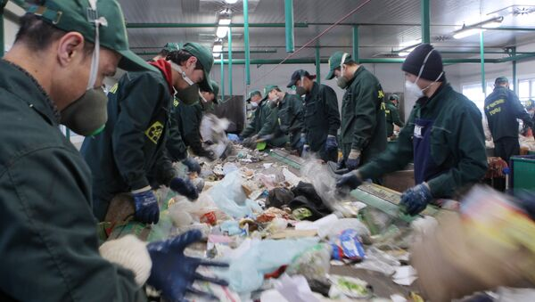 Waste recycling plant in Sochi - Sputnik International