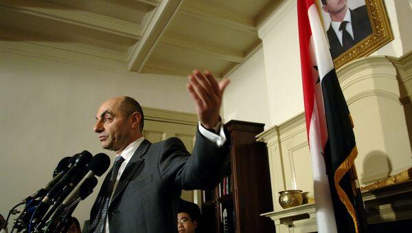 Syrian Ambassador Imad Moustapha (File) - Sputnik International