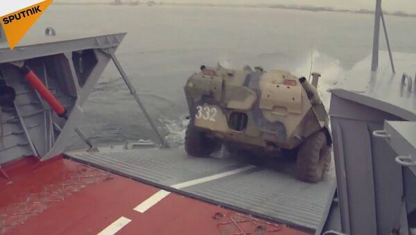 Russian Army Drills - Sputnik International