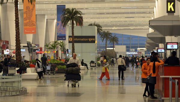 Terminal 3 of Indira Gandhi International airport in New Delhi - Sputnik International