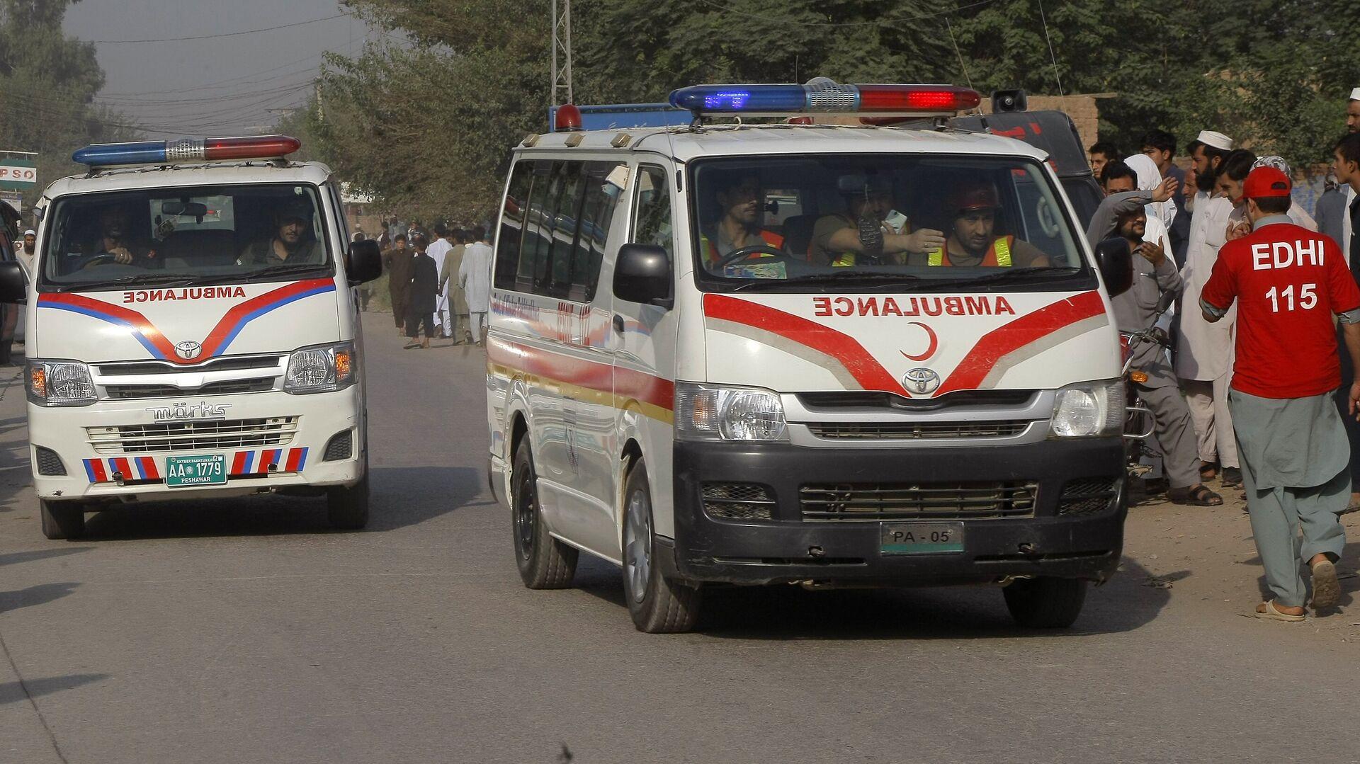 Pakistan ambulance. (File) - Sputnik International, 1920, 26.09.2021