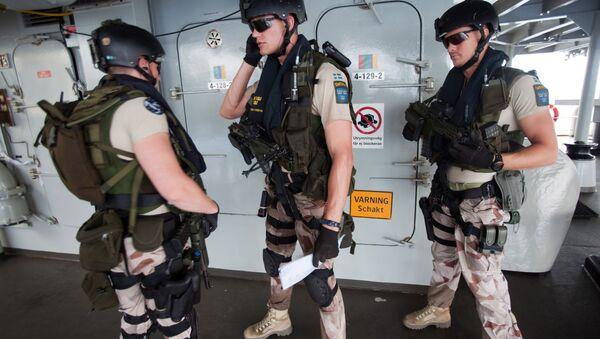 Swedish EMF (Embarked Military Force). (File) - Sputnik International