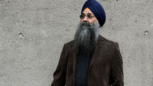 Inderjit Singh Reyat, the only man ever convicted in the Air India bombings of 1985. - Sputnik International