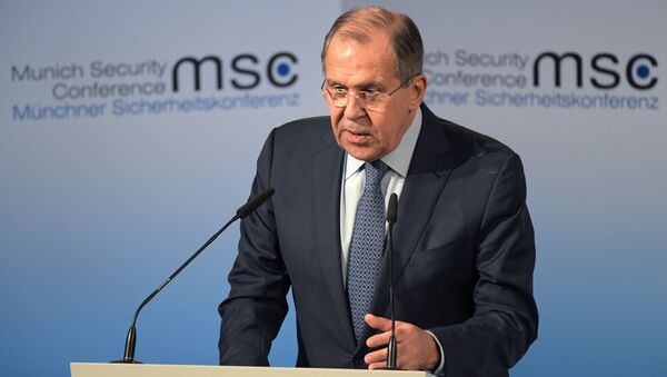 Russian Foreign Minister Sergey Lavrov at the 53rd Munich Security Conference - Sputnik International