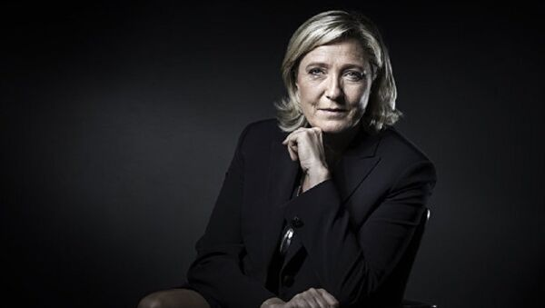 French presidential election candidate for the far-right Front National (FN) party Marine Le Pen. (File) - Sputnik International