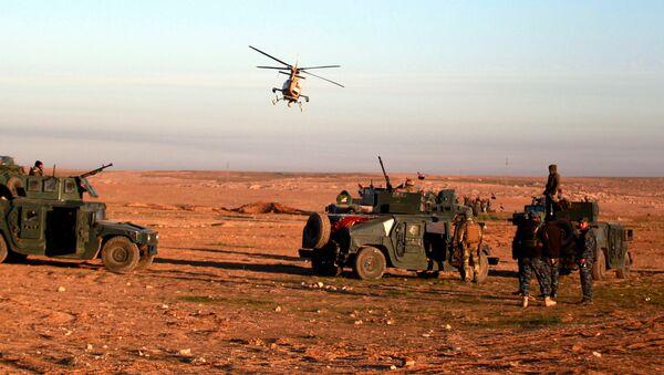 Iraqi security forces advance towards the western side of Mosul, Iraq February 19, 2017 - Sputnik International