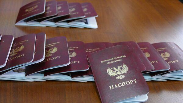 Passports of the Donetsk People's Republic - Sputnik International