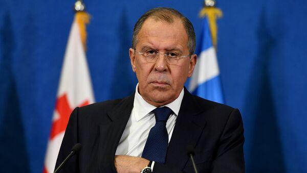 Russian Foreign Minister Sergey Lavrov during press conference on December 13, 2016 - Sputnik International