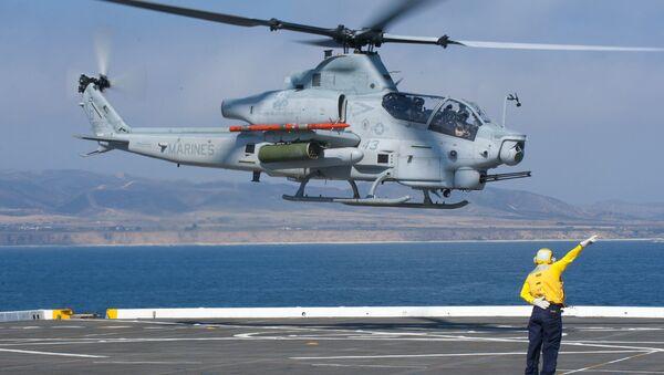 Marine Corps AH-1Z Viper attack helicopter - Sputnik International