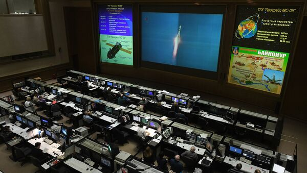The Progress MS-05 cargo craft is to orbit the Earth, eventually approaching the International Space Station and docking with it - Sputnik International