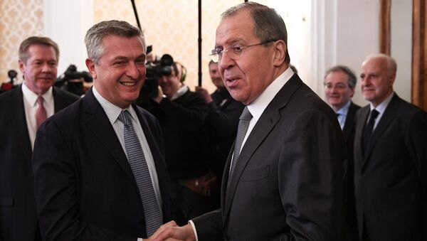 Sergei Lavrov meets with UN High Commissioner for Refugees Filippo Grandi - Sputnik International