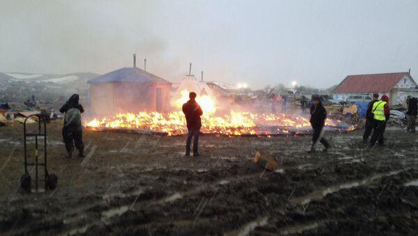 Dakota Access Oil Pipeline - Sputnik International