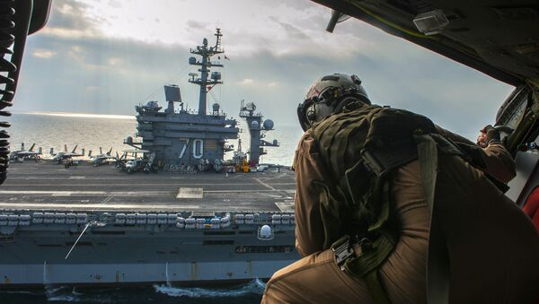 Nimitz-class aircraft carrier USS Carl Vinson (CVN 70) - Sputnik International