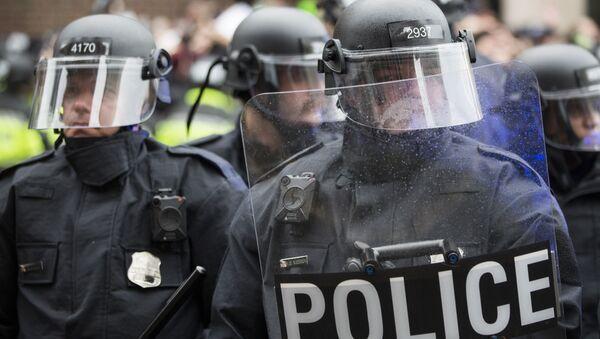 Police officers, Washington, DC. - Sputnik International