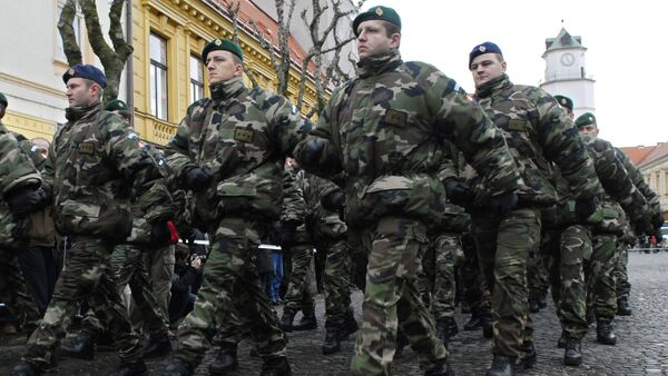Slovakian soldiers (File) - Sputnik International