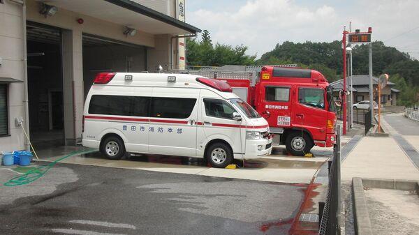 Ambulance and fire truck. Japan - Sputnik International