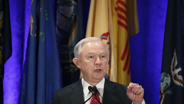 US Attorney General Jeff Sessions - Sputnik International