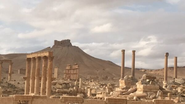 Palmyra recaptured by Syrian Arab Army backed by Russian Air Force - Sputnik International