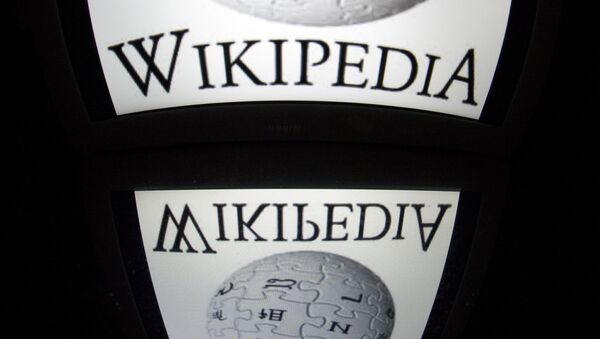 The Wikipedia logo. (File) - Sputnik International