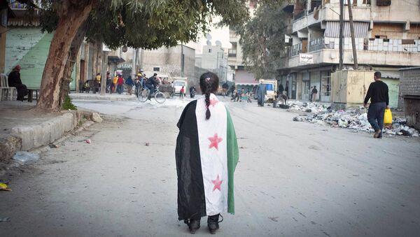 Syrian girl - Sputnik International