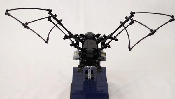 The Bat - Kinetic LEGO Sculpture - Sputnik International