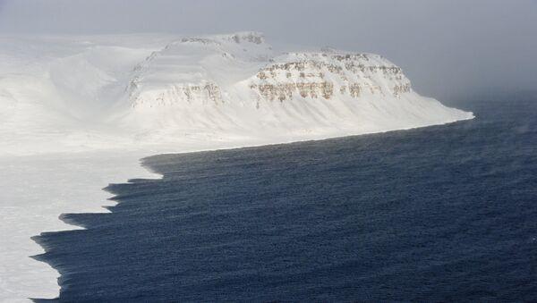 Coastline of the Franz Josef Land archipelago. - Sputnik International