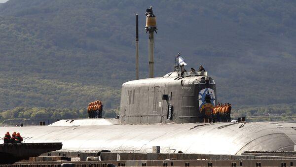 949A Antei project's Tver nuclear-powered submarine - Sputnik International