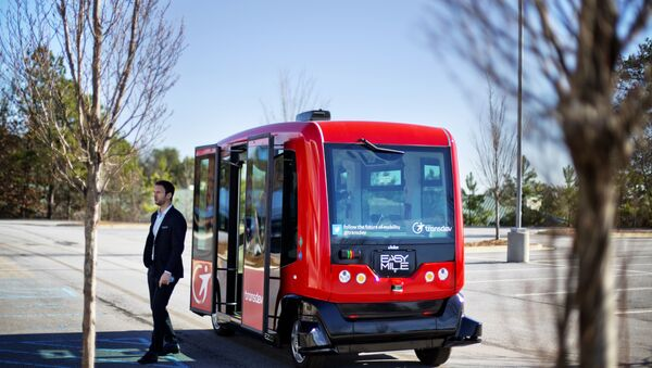 Self-Driving Bus - Sputnik International
