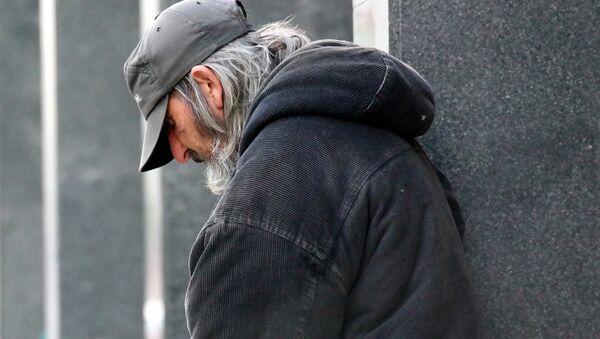 Homeless man - Sputnik International
