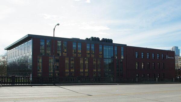 Headquarters of w:Mercy Corps in Downtown Portland - Sputnik International
